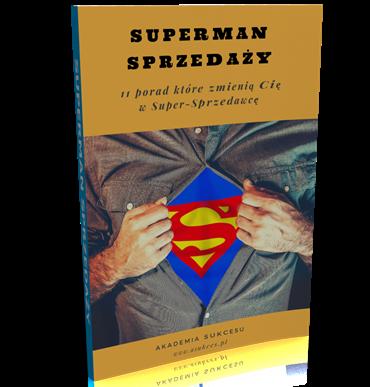 poradnik superman sprzedaży - techniki sprzedaży